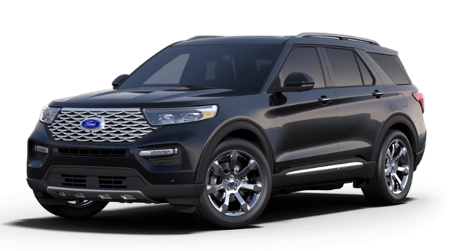 New 2020 Ford Explorer Platinum SUV for sale in Darien, GA at Hodges Ford